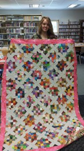 2014 Quilt Raffle Winner Autumn Speer